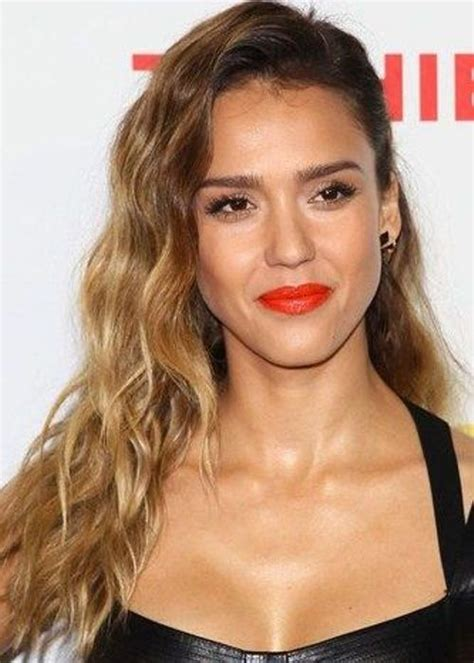 hairstyles dark roots blonde tips herinterest com jessica alba ombre hair color idea