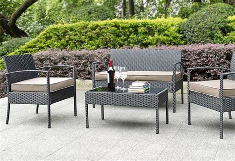 furniture new ideas gray wicker outdoor furniture and