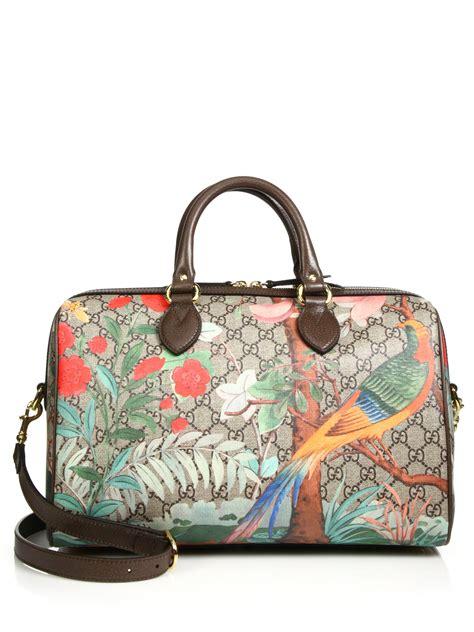 Gucci Boston 2015 Condition Complete Set gucci tian gg supreme top handle boston bag in multicolor lyst