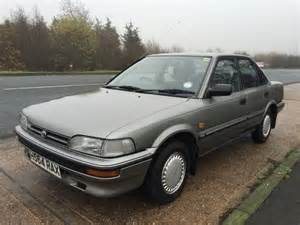 Vintage Toyota For Sale Classic Toyota Corolla 1 3 Gl Saloon For Sale 1991 On