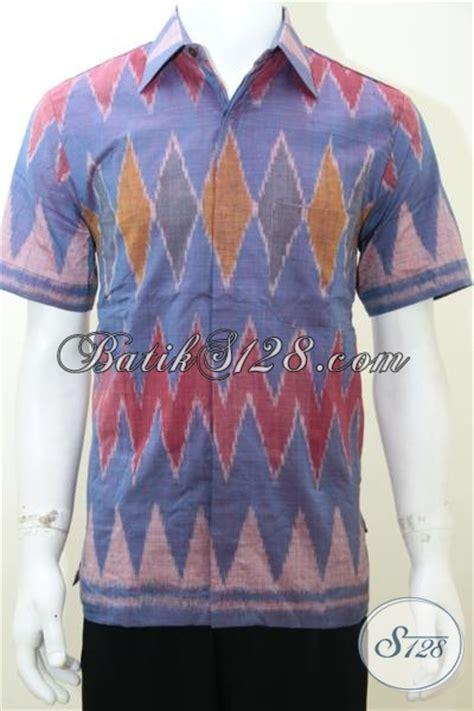 Baju Tenun Asli baju kain tenun model terbaru busana pria modern asli