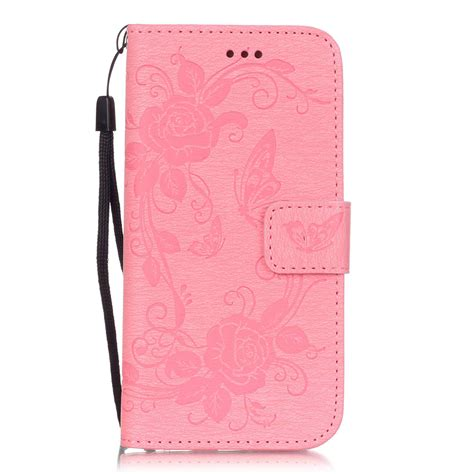 for iphone 5 se 6 6s card holder leather wallet cover