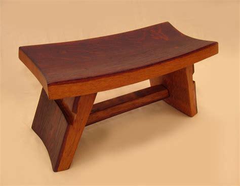 the temple meditation zen stool footstool recycled oak