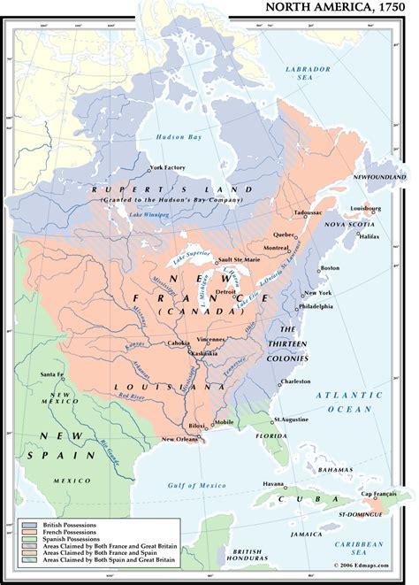 america map in 1754 america 1750
