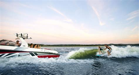 wake boat surfing watersports all things towable boats