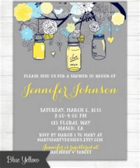 Yellow And Black Bridal Shower Evite wedding ideas navy blue yellow 2 weddbook