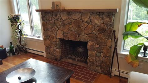Cape Cod Fireplace by Cape Cod Fireplace From Brick To