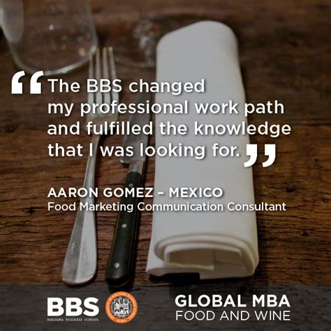 Mba Food And Wine by Global Mba Food And Wine Bbs