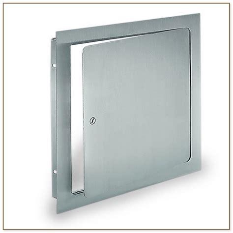Plumbing Access Doors by Light Grey Sectional