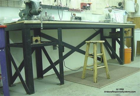 build metal workshop bench plans plans woodworking