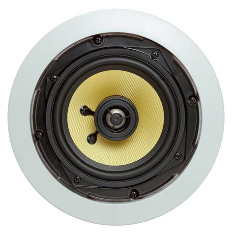 5 25 quot surround sound 2 way in wall in ceiling kevlar