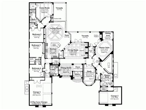 6 bedroom country house plans simple house plan with 6 bedrooms