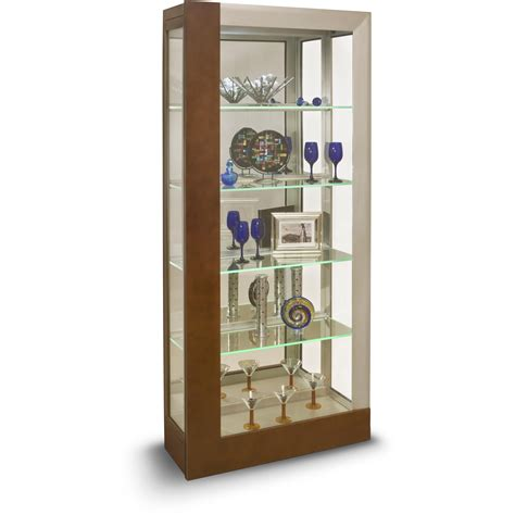 accent cabinet with shelves philip reinisch halo centaurus accent cabinet with led