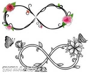Symbols For Birth Infinity Tatuajes De Infinito Con Letras Y Corazones Tatuajes 123