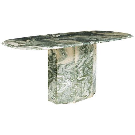 Dining Table Italian Marble Verde Luana Italian Marble Dining Table At 1stdibs