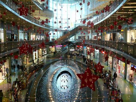 christmas decorations shopping centre porto e2bn gallery