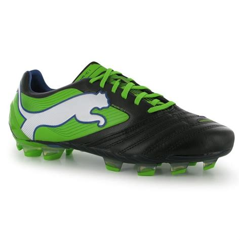 football shoes with studs mens powercat 1 fg football boots sports shoes
