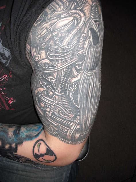 biomechanical half sleeve tattoo designs 344 tattoos half sleeve designs half