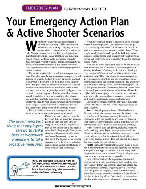 The 25 Best Ideas About Emergency Action Plans On Pinterest Allergy Reactions Symptoms Of Active Shooter Emergency Plan Template