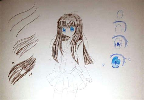 Anime School Drawing