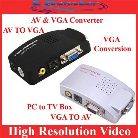 Sale Vga Conversion Tv To Pc svideo tv av rca to pc vga s end 10 18 2018 11 15 am