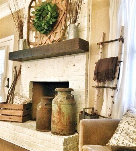 rustic fireplace ideas best 25 rustic mantle decor ideas on