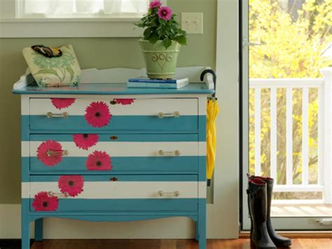 how to paint and decorate an old furniture in formica 19 creative ways to paint a dresser diy