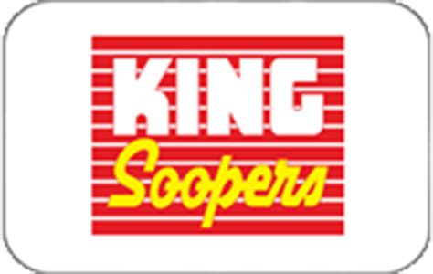 Gift Cards At King Soopers - grocery store gift cards save up to 10