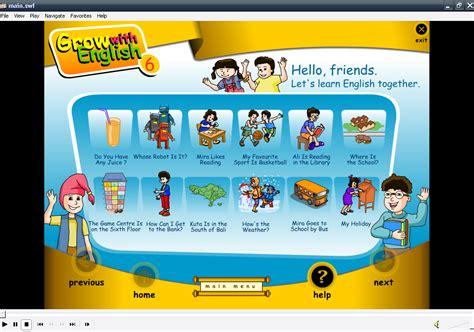 tutorial bahasa inggris untuk anak sd cd media pembelajaran interaktif bahasa inggris untuk sd