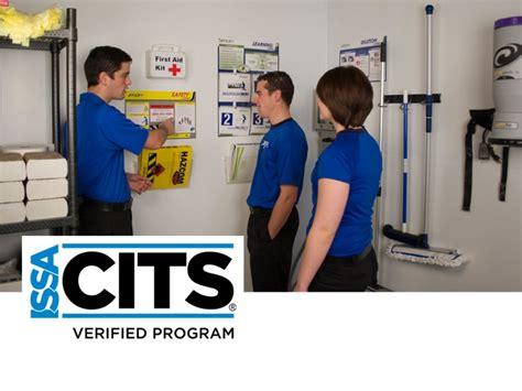 janitor program issa cits award varsity facility services