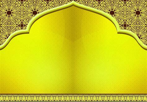 kuning background islami