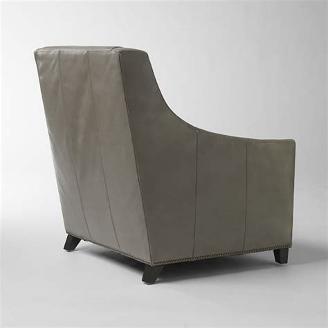 sweep armchair sweep leather armchair west elm