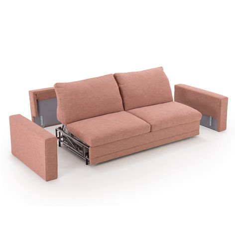 sofa bed outlet noah slim red fabric sofa bed arredaclick