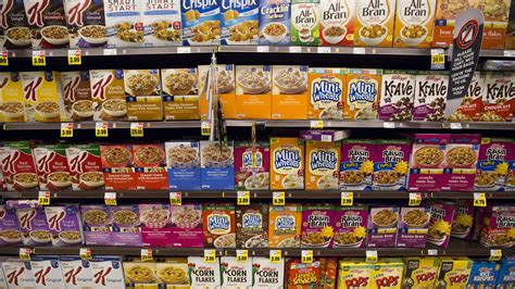 Supermarket Box kellogg k is experimenting with supermarket placement by getting cereal in the produce section