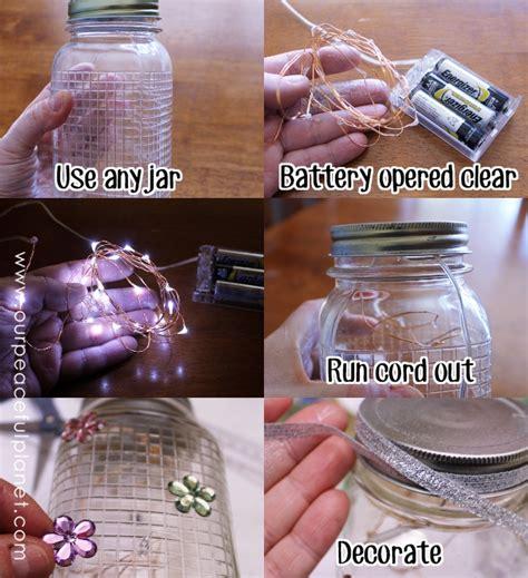 make lights twinkle it s easy to make diy twinkle lights in jars