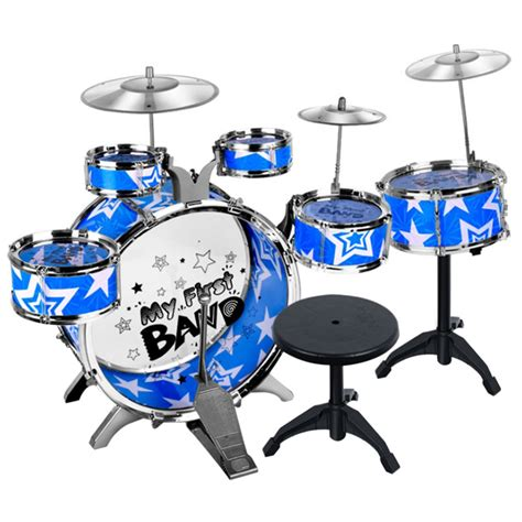 Jazz Drum Drum Set Mainan Edukatif children educational percussion instrument drum set kit simulation jazz drum