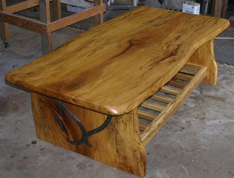 how to make a wood slab coffee table coffee table design