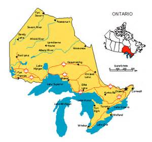 map of ontario province canada maps for design canadian provinces maps ontario