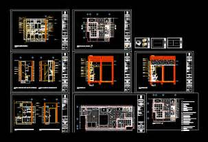 pantry dwg section  autocad designs cad