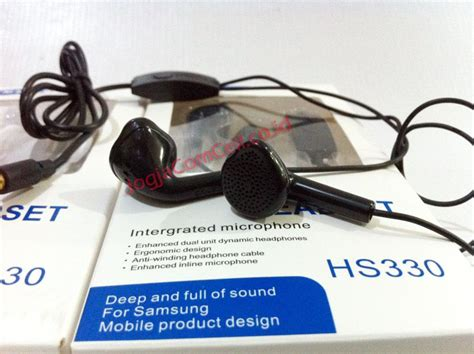 Murah Headset Stereo For Samsung Hs330 stereo headset samsung hs330 earphone samsung