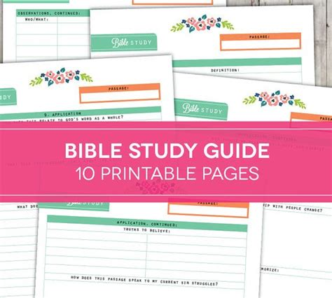 Bible Study Guide Outline by Bible Study Guide On The Parables Of Jesus