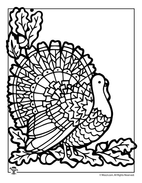 10 thanksgiving coloring pages thanksgiving turkey coloring page woo jr kids activities