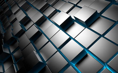 wallpaper blue cube cube full hd wallpaper and background image 1920x1200