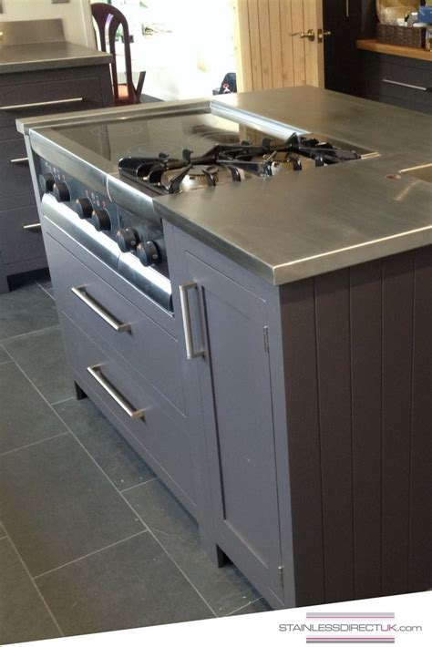 kitchen island worktops 56 best images about our stainless steel kitchens on