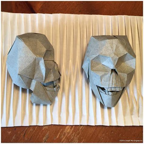 Origami Skull - 30 frighteningly fantastic origami models