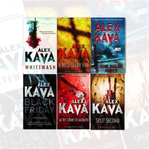 a whitewashed books maggie o dell series collection 6 books set by alex kava