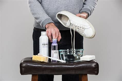 White Leather Cleaner by How To Clean Your White Leather Sneakers He Spoke Style