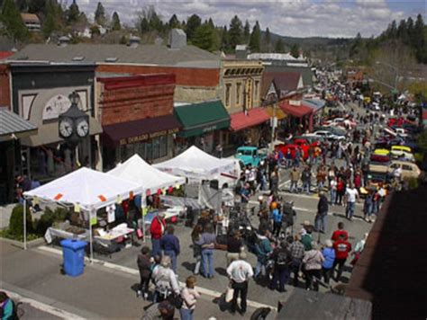 Downtown Grass Valley Car Show Greater Grass Valley Classic Grass Valley Ca