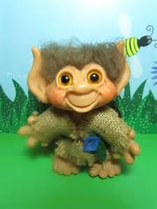 1965 vintage dam troll w tail 6 quot dam troll doll ebay