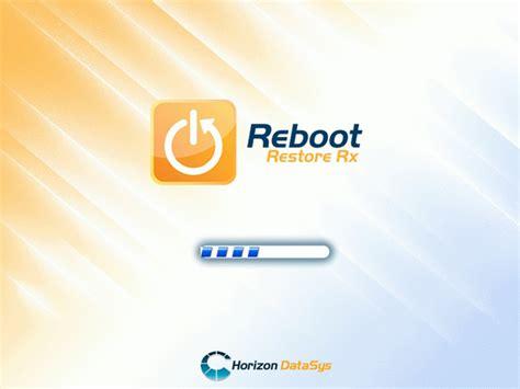 reboot restore rx wikipedia